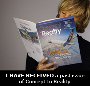 I HAVE RECEIVED a past issue of Concept to Reality