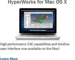 Altair Introduces HyperWorks Computer-Aided Engineering Suite for Mac OS X