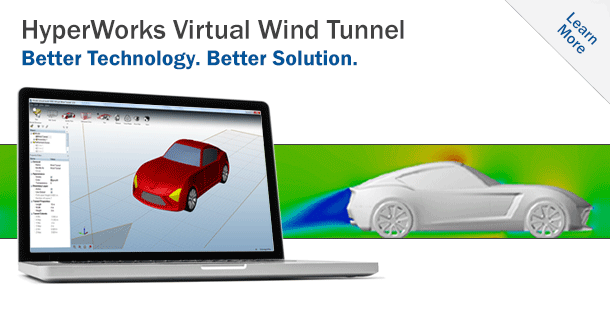 HyperWorks Virtual Wind Tunnel