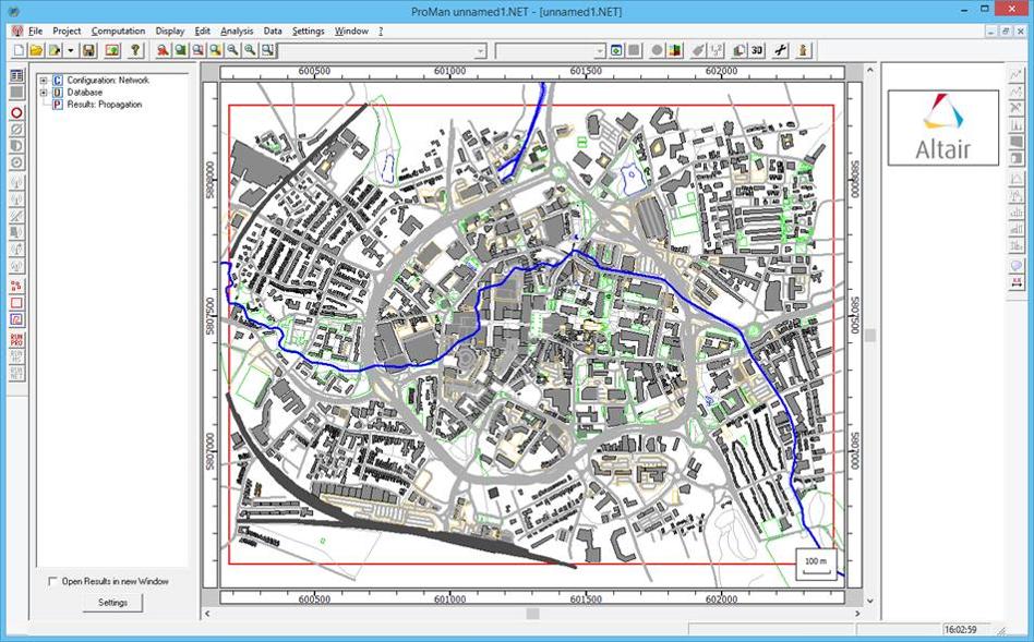 OpenStreetMapから地図データをインポート可能