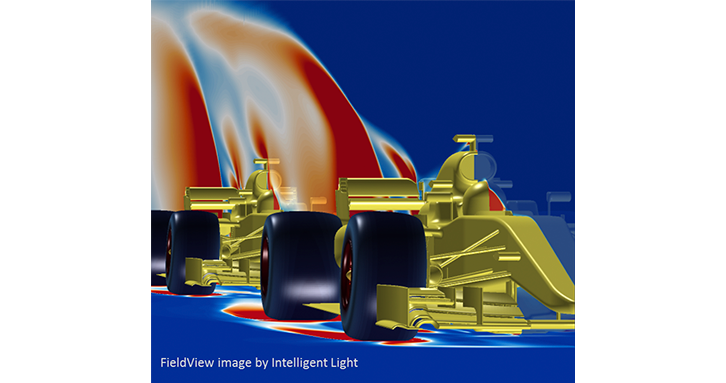 Formula One overtake study: small aerodynamic improvements can provide the winning edge