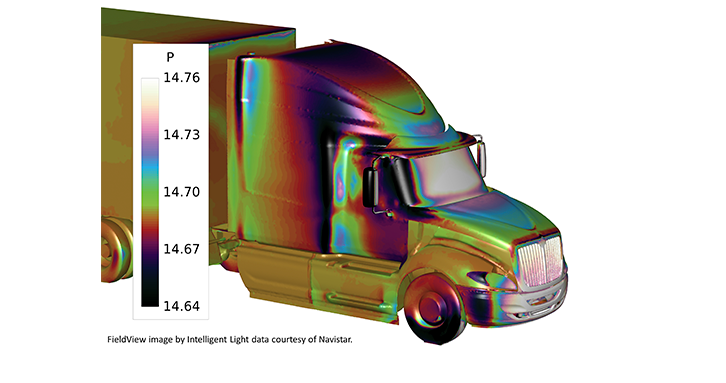 Achromatic colormap make scalar values easy to see and easy to understand.