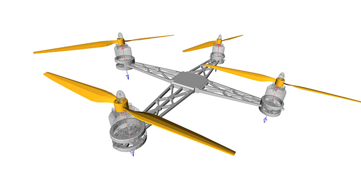 Unmanned aerial vehicle dynamics analysis