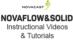 NovaFlow&Solid Online Tutorials