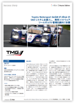 【日本語事例】Toyota Motorsport GmbHがAltairのSAOシステムを導入し、商用ソフトウェアツールのコスト管理を劇的に改善
