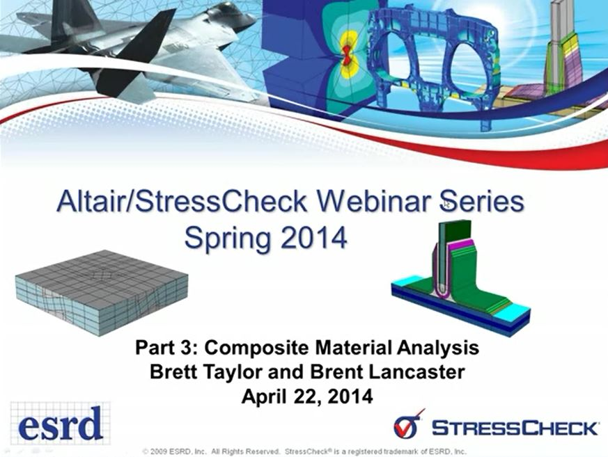 Composite Material Analysis using StressCheck