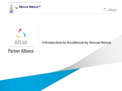Introduction to AcuNexus by Novus Nexus