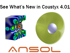 See what's new in Coustyx 4.01