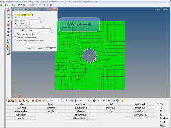 HyperMesh基本操作動画 #01 穴周りにワッシャー層を作成(メッシュ)する方法