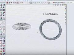 ヒント&チップス solidThinking Evolve #11 バネ形状の作成2