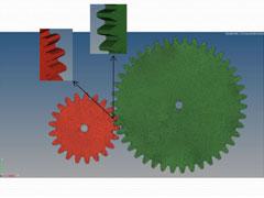 [AOP]埼玉工業大学 - HyperWorksを用いた歯車結合要素の力学特性解析