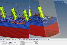 【Tips動画】HyperMesh/HyperView:ジオメトリ(CAD)の断面カット表示