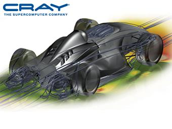 外部空気力学の最適化のためのCray とAltair のソリューション - Virtual Wind Tunnel