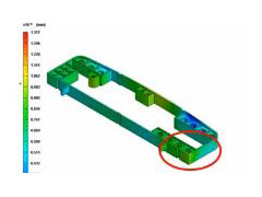 Integration between Moldex3D and HyperStudy Improving Part Quality for Injection Molding in the Automotive Industry