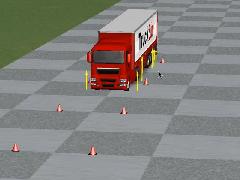 Applications in the Simulation of Truck Dynamics using TruckSim