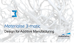 About Materialise 3-matic: Modules