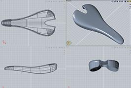 Evolve Bike Seat Model