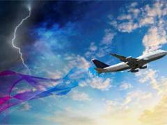 NASA开发出用于检测复合材料飞机所受雷击损害的无线传感器