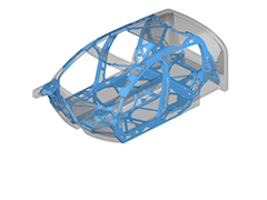 CAE-driven design methodology for semi-autonomous product development for the next generation light weight vehicle structures