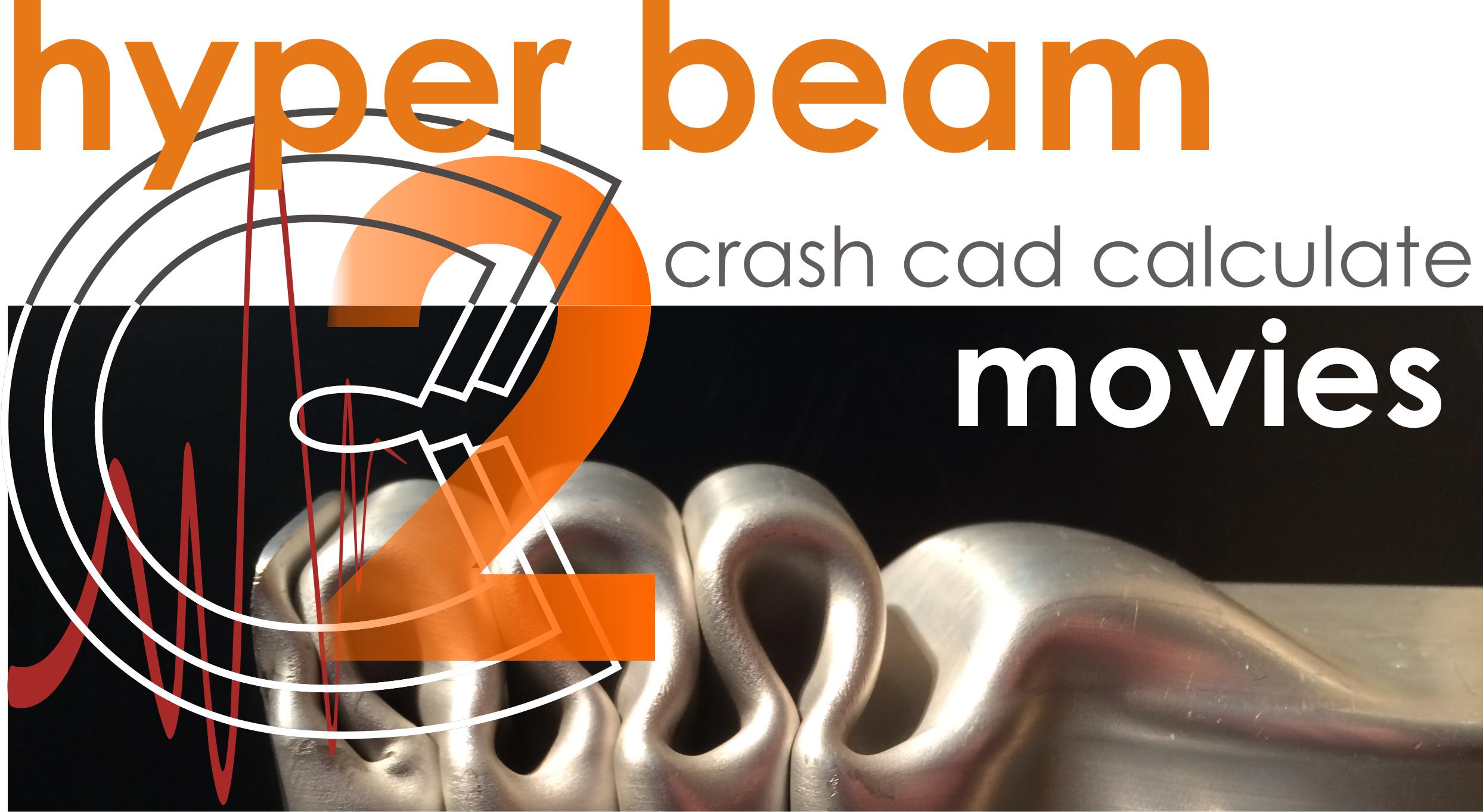 Crash Cad Calculate and HyperBeam Demo