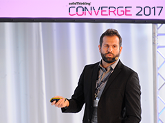 "Converge 2017: Gabriele Romagnoli ""Development of a new lightweight aluminum profile for a glass balustrade..."""