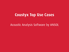 Top Use Cases: Coustyx