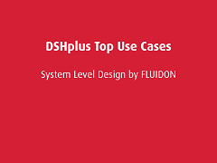 Top Use Cases: DSHplus