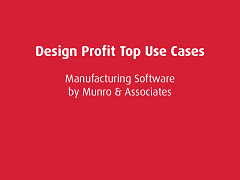 Top Use Cases: Design Profit