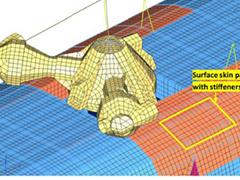 Hybrid Finite Element Analysis of a Rotorcraft
