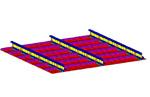 Modeling of Stiffened Panels Using the Energy Finite Element Analysis