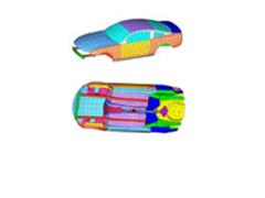 复合材料飞机结构的振动分析的能量有限元分析研发