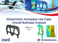 StressCheck Use Case: Aerospace