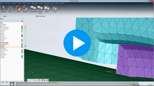 Webinar: Efficient Solid Meshing and Fatigue Assessment of Welds Using SimLab and FEMFAT