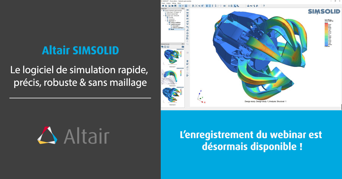 Webinar d'introduction à SimSolid