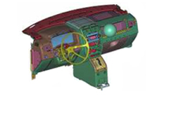 Multi Body Dynamics Simulation and Test Correlation of a Glove Box Mechanism using Motion Solve