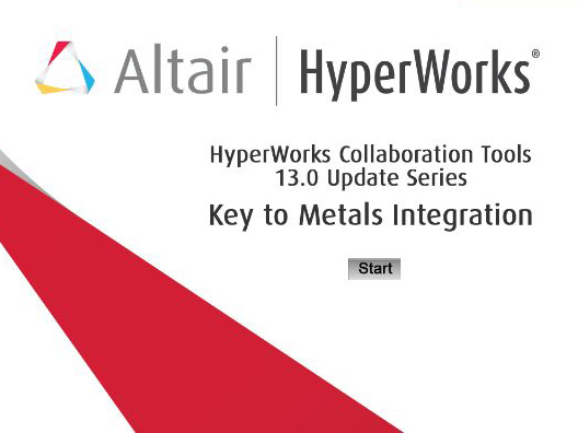 HyperMesh + Key to Metals Integration Demo