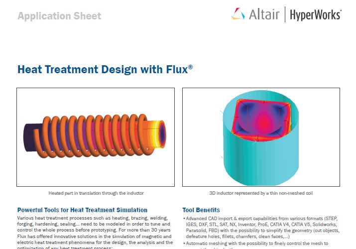Heat Treatment Design with Flux