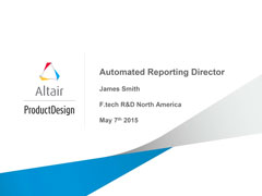 Automated Reporting Director