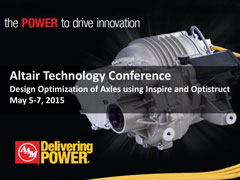 Design Optimization of Axles using Inspire and OptiStruct