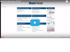 Video: Intro to the Maple Engineering Portal