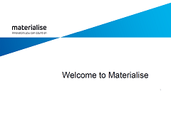 About Materialise Presentation