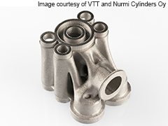VTT Presents an Organic, Lightweight Hydraulic Valve
