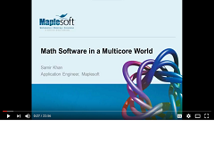 Webinar Recording: Math Software in a Multicore World