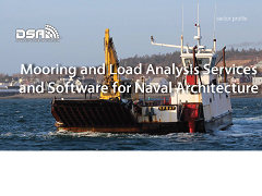 Mooring and Load Analysis Services & Software for Naval Architecture