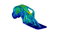 Topology Optimisation of an Aerospace Part to be Produced by Additive Layer Manufacturing (ALM)