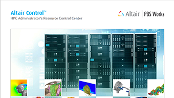 Altair Control: HPC Administrator's Resource Control Center