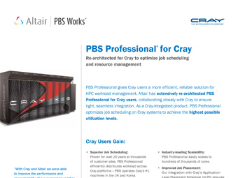PBS Professional for Cray Users