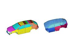 Vehicle Airborne Noise Analysis Using the Energy Finite Element Method