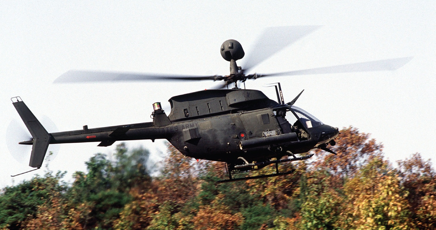 QinetiQ Keeps the Army's Kiowa Copter Flying Lighter and Longer Through HyperWorks Optimization