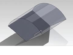 利用CFD调查多兆瓦的风力涡轮机转子的气动弹性性能